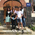 Strahlende Gewinner bei der NFTE Businessplanpräsentation am Schadow Gymnasium in Berlin