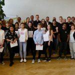 Jasmin Bretmacher aus Emmendingen gewinnt den  NFTE - Landesevent Baden-Württemberg und fährt nach Berlin