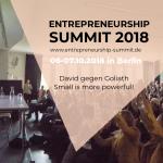 Das NFTE Bundesevent findet auf dem Entrepreneurship Summit statt
