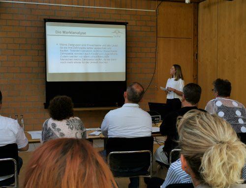 Businessplan Präsentationen an der Sophie-Scholl Schule